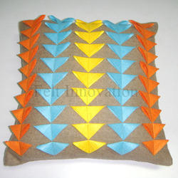 Applique Cushion Cover