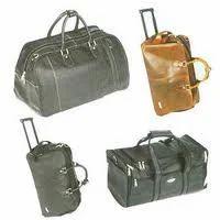 Leather Trolley Bag