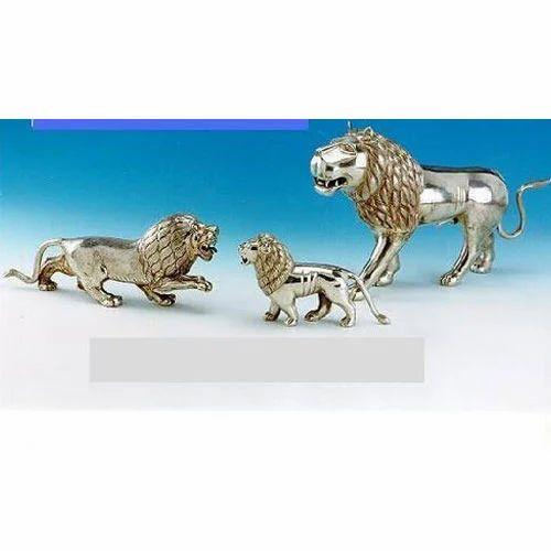 Silver Animal Sculpture
