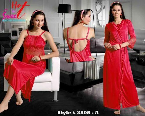 Ladies Nightwear - Hot N Sexy Four Pieces Nightwear Exporter from Mumbai 96cfff0dd