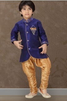 Purple Breeches Kids Suit