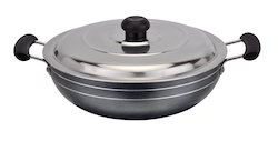 Deep Kadai ( With Stainless Steel Lid )