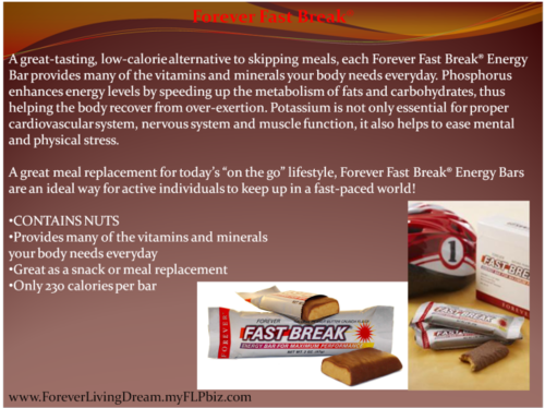 Forever Fast Break 0267 Weight Loss Supplements