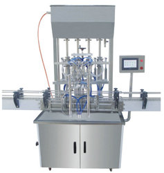 Automatic 4 Head Paste/ Liquid Filling Machine