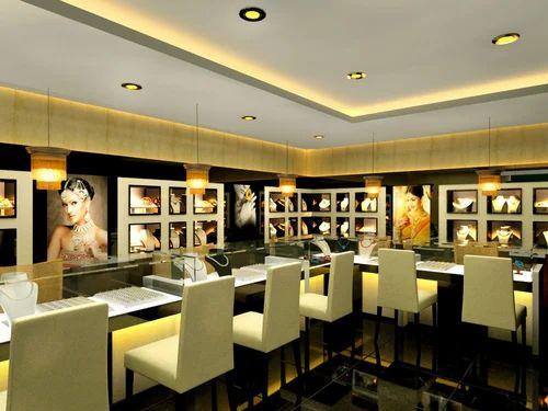 Jewelry Shop Interiors Designing In Paryavaran Complex New Delhi Amazing Jewelry Store Interior Design Ideas