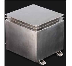 Sliver Metal SBE 130 EX Battery Box, For Marine