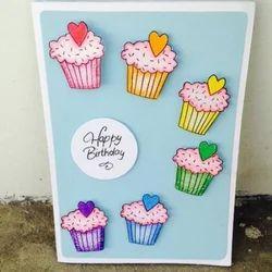 Happy Birthaday Greeting Card