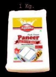 Agroha Fresh Block  Paneer 1 Kg/Cheese Cottage