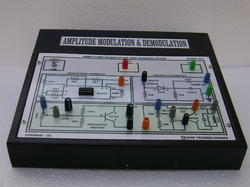 Amplitude Shift Keying Modulation Trainer