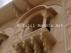 Designer Marble Jharokha