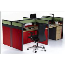 Linear Workstation Four Seater
