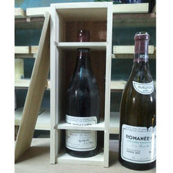 Wine Bottle Packaging Wooden Box