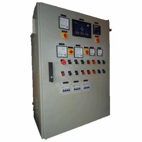 Mild Steel Three Phase AMF Panel, Ip Rating: Ip33