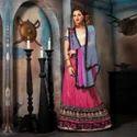 Cotton Bridal Wear Embroidery Lehenga Sarees