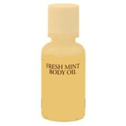 Mint Cool Body Oil