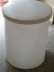 Cylindrical Vertical Container