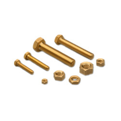 Brass Nut and Bolt