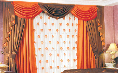 designer scallop curtains at rs 250 square meter designer parda