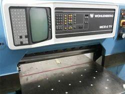 Wohlenberg 92 Paper Cutter