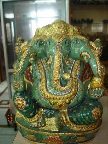 Green Jade Ganesh