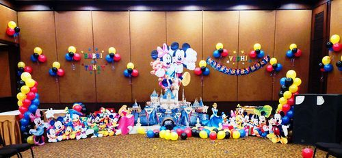 Theme birthday parties - Disney Theme Birthday Decoration Service ...