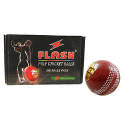 Leather Poly Synthetic Cricket Ball