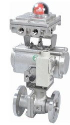 Rotex Stainless Steel Ball Valve with Rotary Actuator