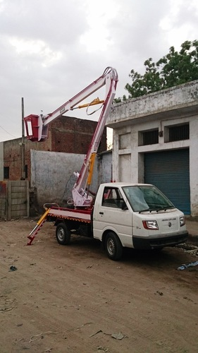 Mild Steel Ashok Leyland Mounted Hydraulic Elevating Platform