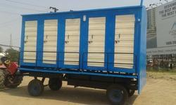 FRP Mobile Toilet 10 Seater