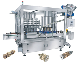 Automatic Monoblock Volumetric Filling and Sealing Machine