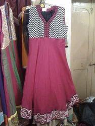 Pink Printed Suit