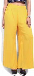 New Ladies Trousers Palazzo Pants