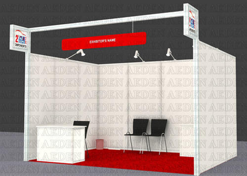 Exhibition Stall Quotation : Exhibition stall maxima shell scheme stand manufacturer