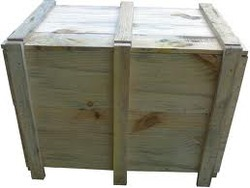 Edible & Non-Edible Pinewood Wooden Packaging Cases, 5-15 mm, Box Capacity: 1-200 Kg