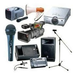 Audio And Visual Equipment Rental Services