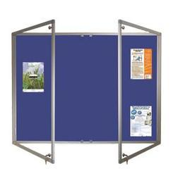 Acrylic Door Covered Notice Board