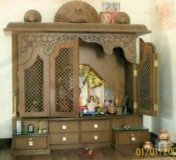 Wooden Temple Frame