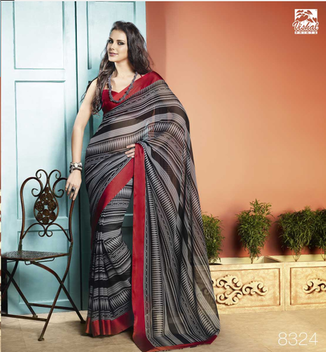 95b6b3adb6 Fancy Printed Sarees - Vishal Fancy Printed Sarees Wholesale Trader ...