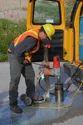 Road Work Material Testing