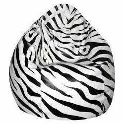 Admirable Zebra Print Bean Bags Vaishali Furniture Manufacturer In Pdpeps Interior Chair Design Pdpepsorg