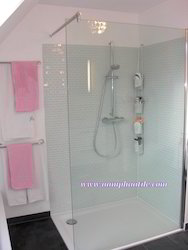 Toughened Glass Shower Panel