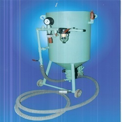 portable type sand blasting machine