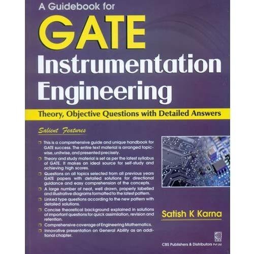 a guidebook for gate instrumentation engineering cbs publishers rh indiamart com
