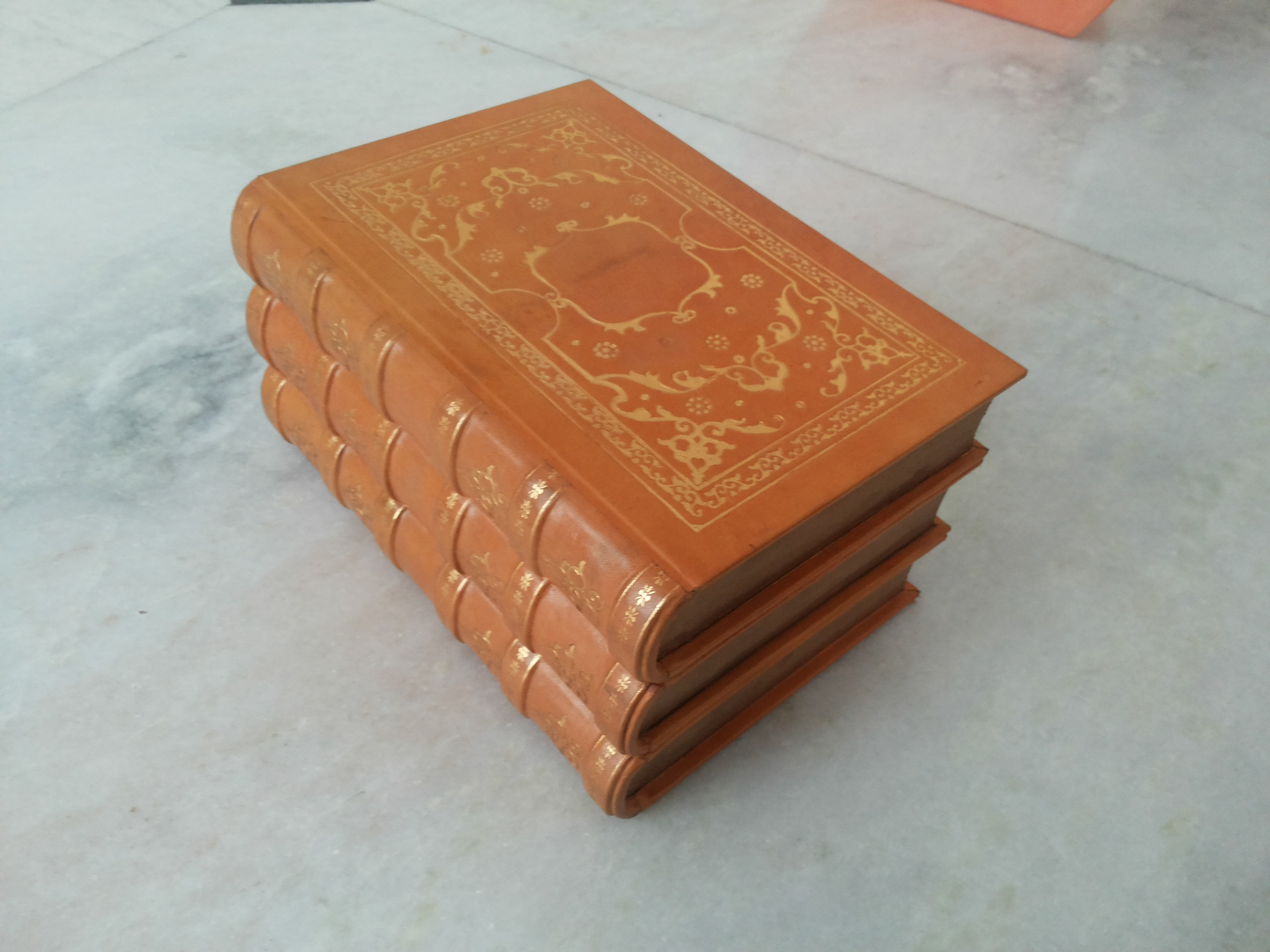 high end furniture and leather book binding manufacturer
