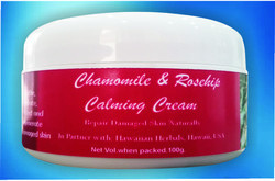 Chamomile And Roship Calming Cream