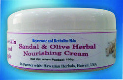 Sandal & Herbal Nourshing Cream
