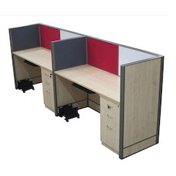 Linear Workstation Two Seater
