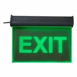 Green LED Exit Signage