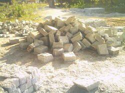 Kuppam Grey Cobble Stones