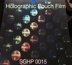 holographic thermal lamination pouch film